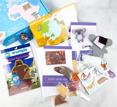 WompleBox by Womple Studios Subscription Box Review + Coupon – AUSTRALIA