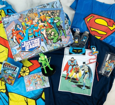 DC Comics World's Finest: The Collection Summer 2021 Box Review – JUSTICE LEAGUE SUMMER!