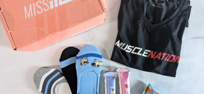 Miss MuscleBox Subscription Box Review + Coupon – August 2021