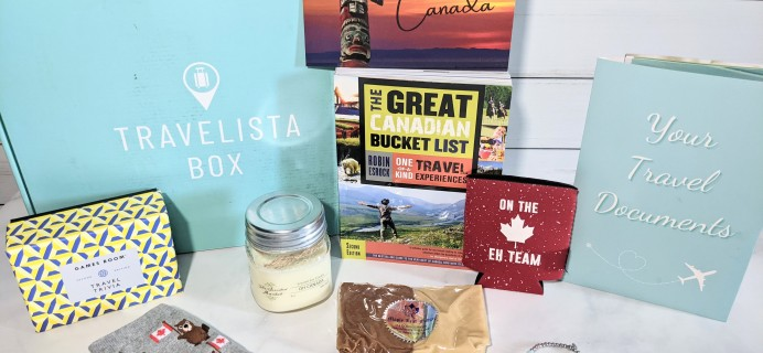 Travelista Box Review + Coupon – Summer 2021