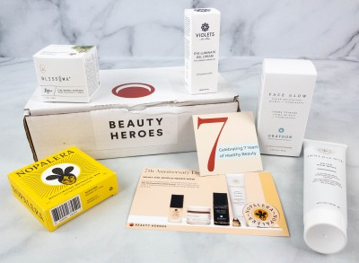 Beauty Heroes September 2021 Review: 7TH YEAR ANNIVERSARY DISCOVERY WORTH CELEBRATING