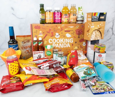 Cooking Panda Box Fall 2021 Review