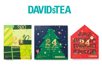 2021 David's Tea Advent Calendars: Classic, Matcha, & Caffeine-Free + Full Spoilers!