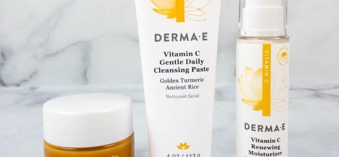 Derma-E Skin Brightening Vitamin C Line Review