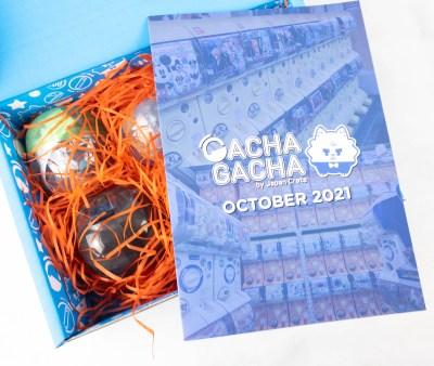 Gacha Gacha Crate October 2021 FULL Spoilers + Coupon!