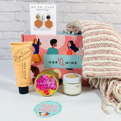 HER-MINE Box September 2021 Subscription Box Review + Coupon