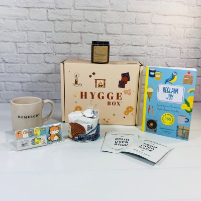 Hygge Box Review – September 2021 Deluxe Box