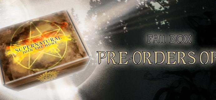 Supernatural Box Fall 2021 Spoiler #1!