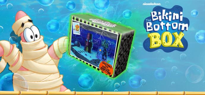 Spongebob's The Bikini Bottom Box Fall 2021 Spoiler #1!