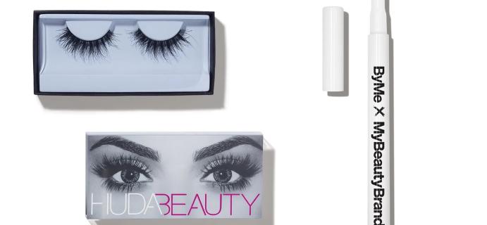 Allure Beauty Box Coupon: FREE ByMe x MyBeautyBrand Eyeliner AND Huda Beauty Lashes!