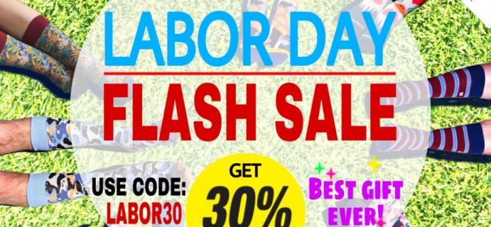 Sock Panda Labor Day Sale: Get 30% Off!