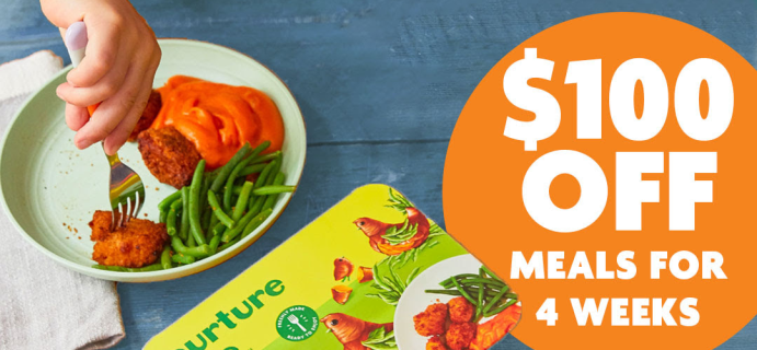 Nurture Life Labor Day Sale: Up To $100 Off On Healthy Kids Meals!