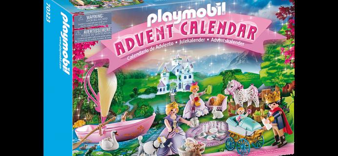2021 Playmobil Royal Picnic Advent Calendar: 24 PLAYMOBIL For Creative Picnic At The Park!
