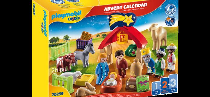 2021 Playmobil Christmas Manger Advent Calendar: Play and Create The Nativity Scene!