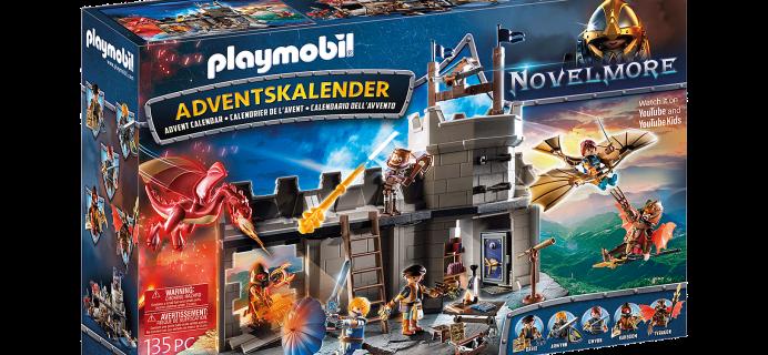 2021 Playmobil Novelmore Dario's Workshop Advent Calendar: 24 Novelmore Pieces!