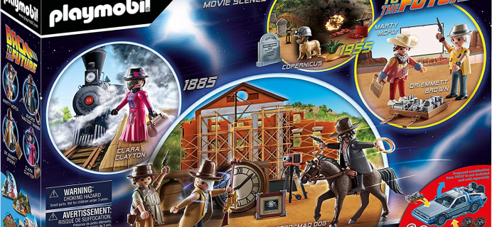 2021 Playmobil Back to the Future III Advent Calendar: Marty McFly and Doc Brown in Wild West & More!