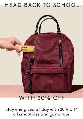 Kencko Back To School Sale: Smoothies & Gumdrops!
