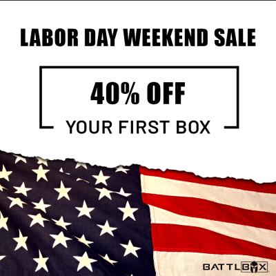 BattlBox Labor Day Sale: Get 40% Off!