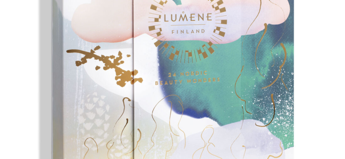2021 Lumene Beauty Advent Calendar Is Here: 24 Nordic Beauty Wonders + Full Spoilers!