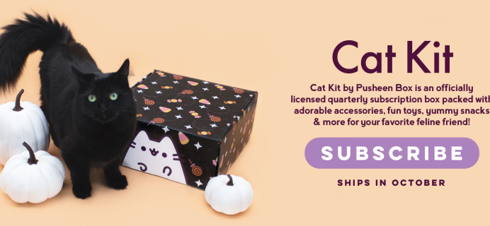 Cat Kit by Pusheen Box Fall 2021 Available Now + Theme Spoilers!