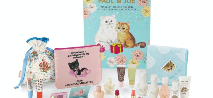 2021 Paul & Joe Advent Calendar: 24 Paul & Joe Favorites + Spoilers!
