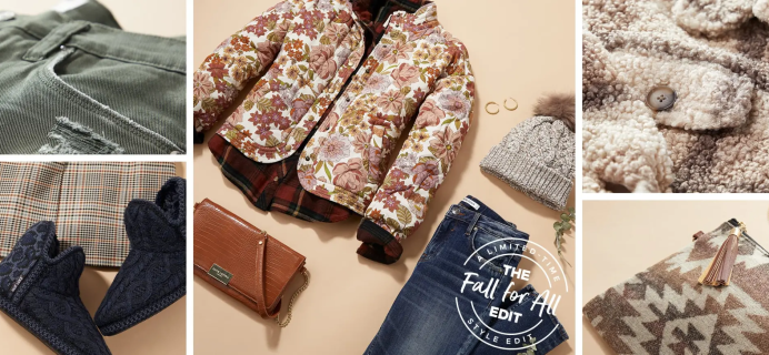 Wantable Limited Edition Fall's Calling Edit: First Dibs On Rich Fall Colors and Cozy Textures!