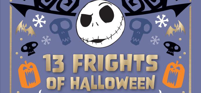 2021 Nightmare Before Christmas Halloween Collectible Surprise Calendar Is Here: 13 Frights of Halloween Surprises!