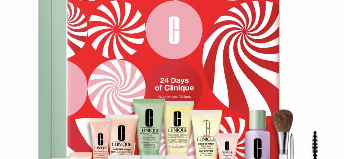 Clinique 2021 Beauty Advent Calendar: 24 Clinique Favorites + Full Spoilers!