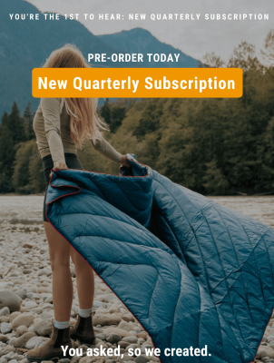 Nomadik Quarterly Subscription: Hiking and Camping Gear Delivered Every Season!