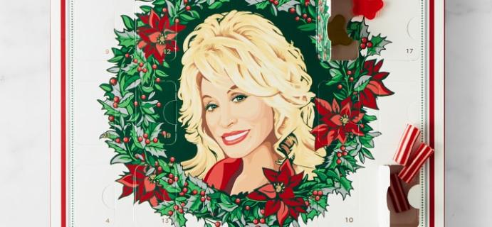 2021 Dolly Parton Advent Calendar Available Now!