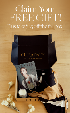 CURATEUR Coupon: $25 Off + FREE Mystery Gift Worth Up To $360!