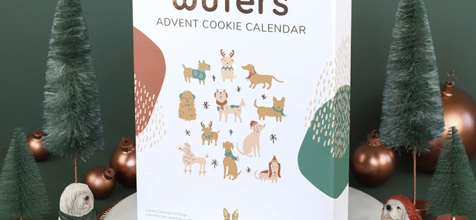 2021 Wufers Dog Cookie Advent Calendar: 24 Delicious Dog Cookies!
