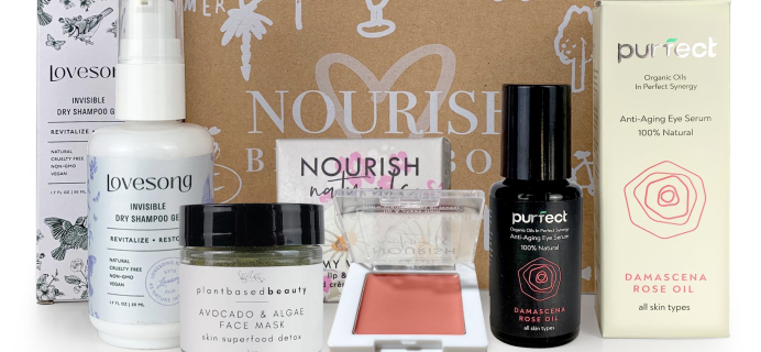 Nourish Beauty Box October 2021 Full Spoilers + Coupon!