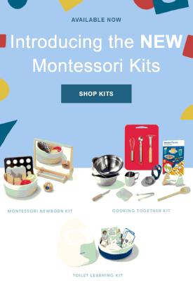 Monti Kids Launches Montessori Kits: 3 Newborn & Toddler Kits+ Coupon!