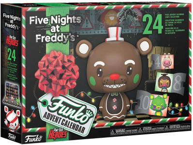 2021 Funko Pop! Five Nights at Freddy's Advent Calendar Available for Preorder Now!