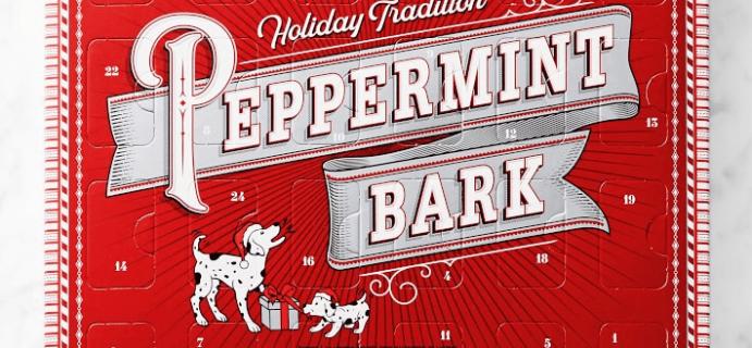 Williams Sonoma Peppermint Bark Advent Calendar Is Here: 24 Peppermint Bark Christmas Characters!