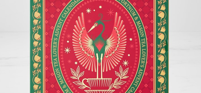 Fortnum and Mason Tea Advent Calendar Is Here: 24 Rare Teas + Full Spoilers!