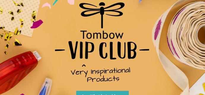 Tombow VIP Club Fall 2021 Creativity Kit: Creative Adhesive Sampler!