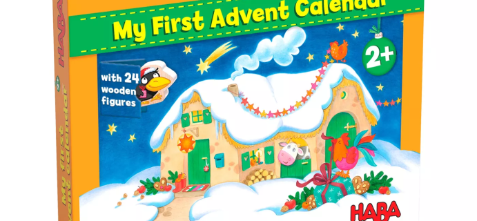 2021 Haba My First Advent Calendar Is Here: 24 Wooden Figures + Spoilers!