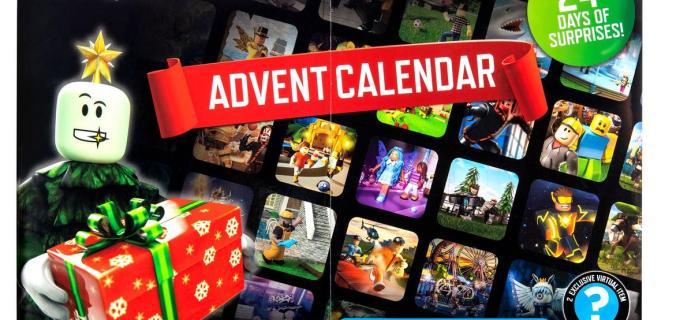 2021 Roblox Advent Calendar: 24 Days of Surprises!