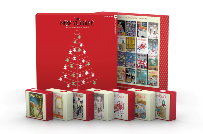 The New Yorker Puzzle Advent Calendar: 24 Puzzles To Celebrate The Season + Spoilers!