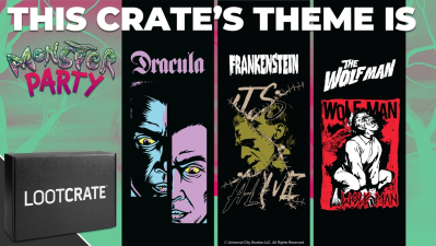 Loot Crate October 2021 Theme Spoilers + Coupon!