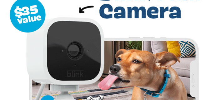 BarkBox & Super Chewer Deal: FREE Amazon Blink Mini Camera With First Box of Toys and Treats for Dogs!