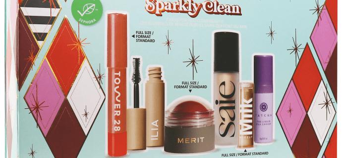 New Sephora Favorites Sparkly Clean Makeup Set!