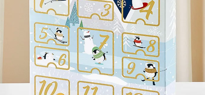2021 The Popcorn Factory Holiday Advent Calendar Available Now!