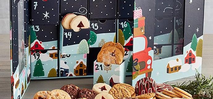 2021 Harry & David Cookie Advent Calendar: The Sweetest Way To Countdown To Christmas!