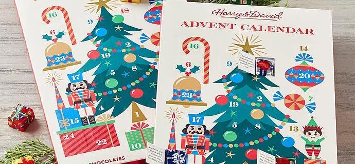 2021 Harry & David Chocolate Advent Calendar Duo!