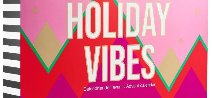 2021 Sephora Holiday Vibes Advent Calendar: 24 Boxes of Beauty Surprises + Full Spoilers!