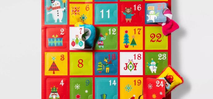 2021 Target Wondershop Dog Toys Advent Calendar: 24 Holiday Themed Dog Toys!