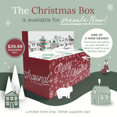 Decocrated Christmas Box 2021 Presale Opens Now!
